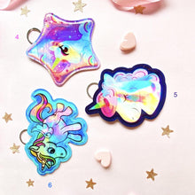 Load image into Gallery viewer, Holographic Unicorn Coin Pouch - TinyMinyMo