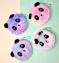 Load image into Gallery viewer, Plush Panda Pouch