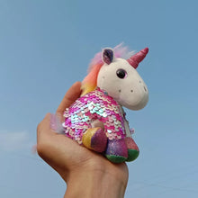 Load image into Gallery viewer, Plush Unicorn Charm