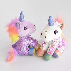 Plush Unicorn Charm