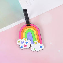 Load image into Gallery viewer, Luggage Tag - Rainbow
