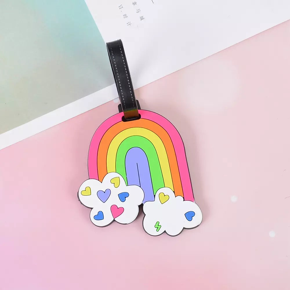 Luggage Tag - Rainbow