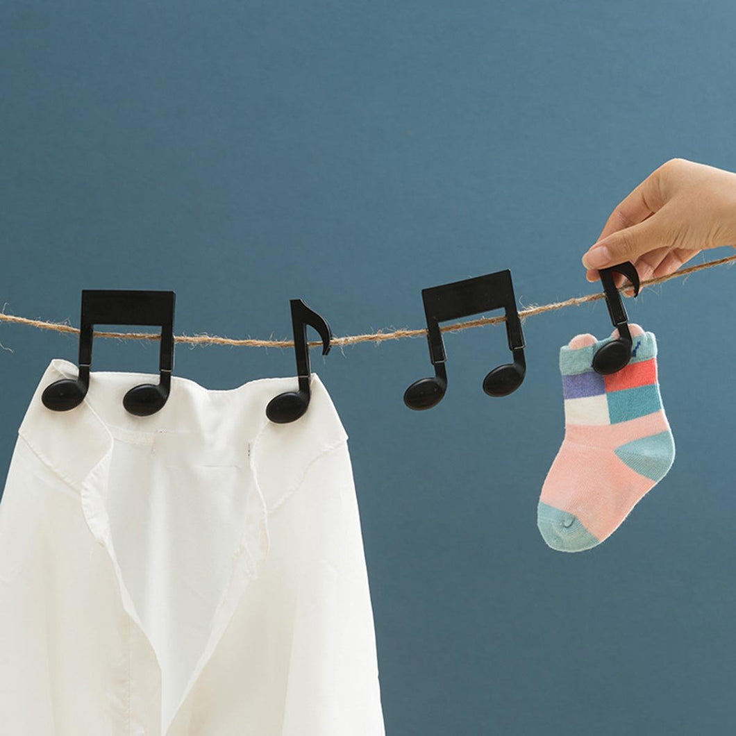 Music Clips - Multipurpose Pegs (Set Of 2)