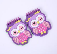 Load image into Gallery viewer, Owl Silicone Notepad - TinyMinyMo