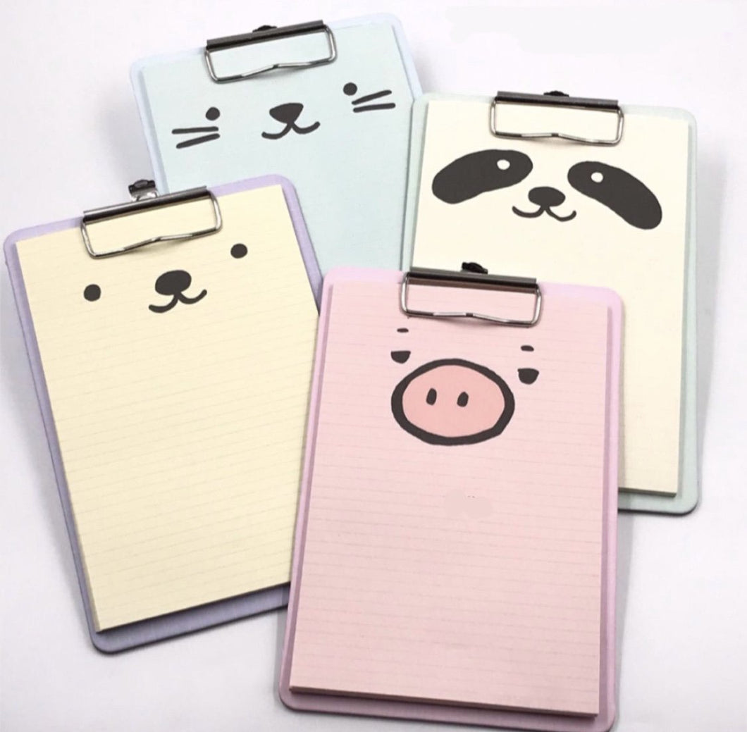 Animal Clip Pads - TinyMinyMo