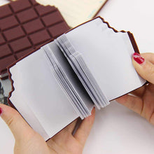 Load image into Gallery viewer, Scented Chocolate Bar Memopad.