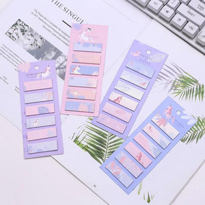 Gradient Unicorn Stickies - TinyMinyMo