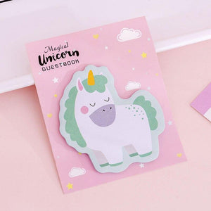 Magical Unicorn Sticky Notes - TinyMinyMo