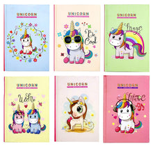 Load image into Gallery viewer, Unicorn Notebook - TinyMinyMo
