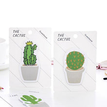 Load image into Gallery viewer, Cactus Shaped Sticky Notes - TinyMinyMo