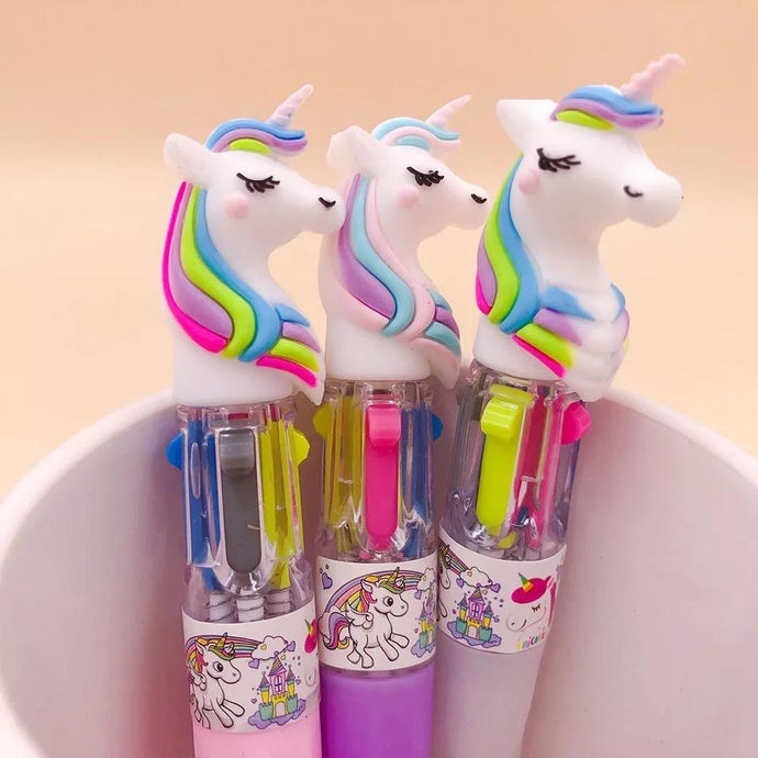 Unicorn Topper Mini Pen - TinyMinyMo