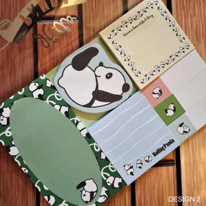 Panda Sticky Note Set