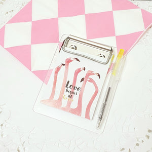 4 in 1 Flamingo Notepad
