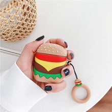 Load image into Gallery viewer, Airpod Cover - Burger - TinyMinyMo