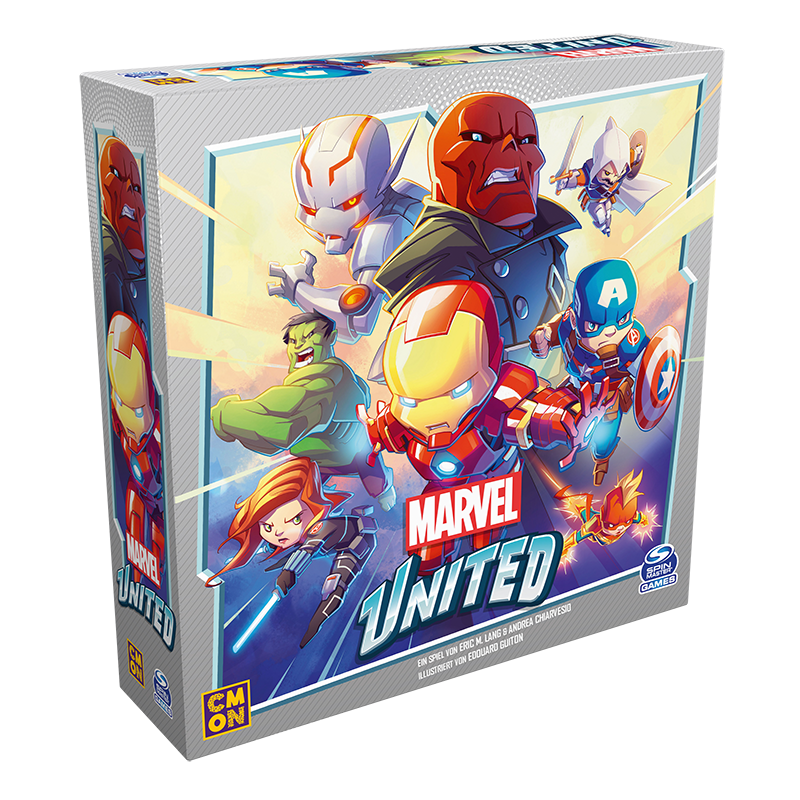Marvel United - Gemeinsam in den Superhelden-Kampf
