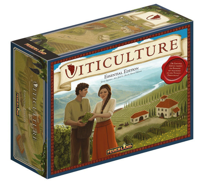 Viticulture Essential Edition - Strategiespiel ab 2 Personen