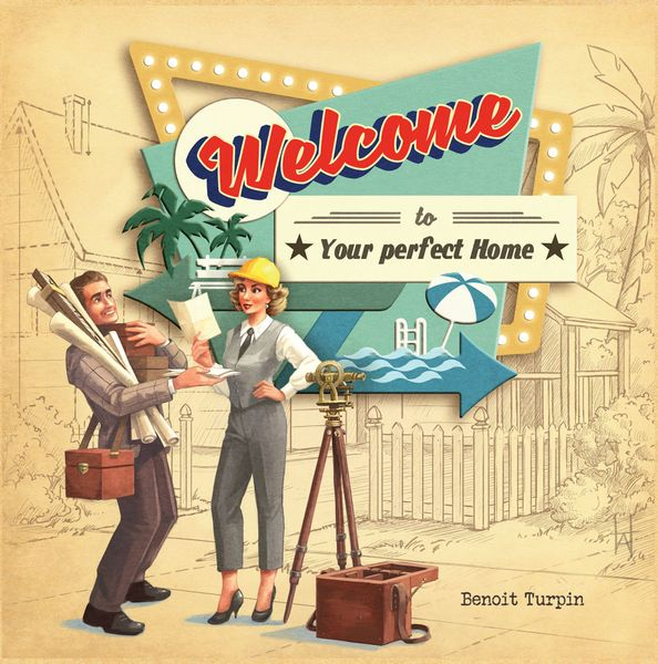 Welcome To ... Your perfect Home - Flip 'n' Write für Vorstadtplaner