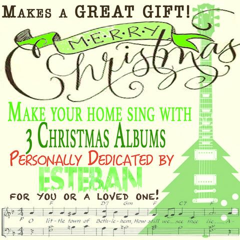 Christmas Music Extravaganza! Personally Autographed!