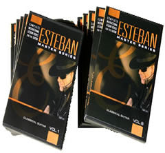Esteban Lessons For Nylon String Classical Guitar DVD Vol. 1-10
