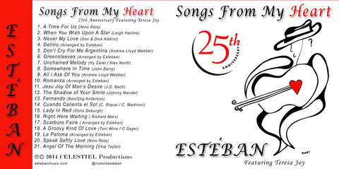 Songs From My Heart 25th Anniversary featuring Teresa Joy (Remastered)