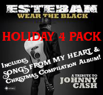 CASH HOLIDAY 4 Pack! 2 disk Wear the Black + Songs from My Heart + Christmas Album Compilation!