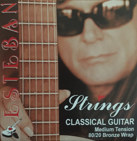 Classical Guitar Strings Medium Tension- 6 strings = 1 set