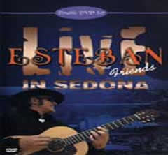 Esteban Live in Sedona DVD set- Signed by Esteban with personal dedication!