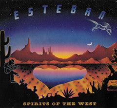 Spirits of the West- Signed by Esteban with personal dedication!