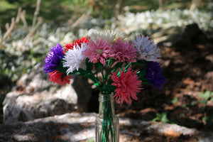My paper flower for September is the Chinese aster