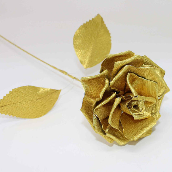 large gold rose