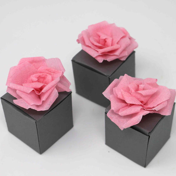 Gift boxes with roses