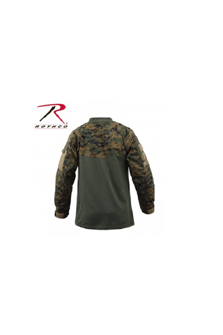 Rothco combat shirt digital woodland