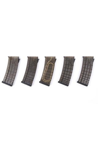 PTS AK Polymer Magazine (5 pack) Black