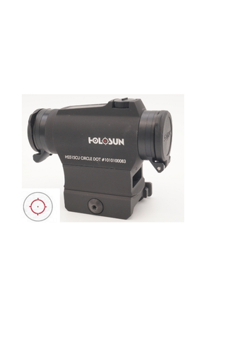 Holosun HS515CU CIRCLE DOT RED DOT SIGHT