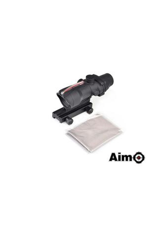 AIM ACOG 4X32C Red Dot Illumination Source Fiber - Noir