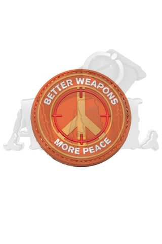 patch: better weapons, more peace