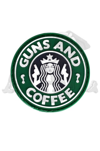 Patch: Guns & Coffee
