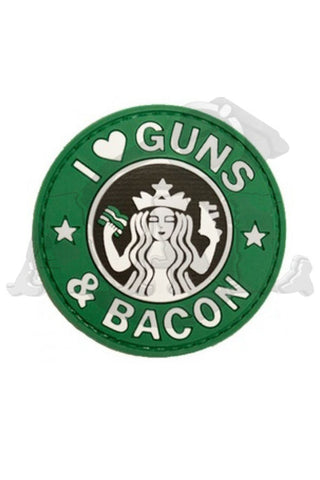 Patch: I ♥ Guns And Bacon