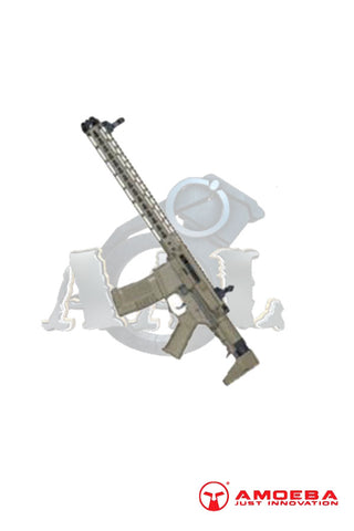 (AM-016) AMOEBA  M4 KEYMOD ASSAULT RIFLE Tan