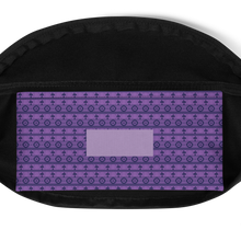 Load image into Gallery viewer, Fanny Pack - Purple Southwestern pattern