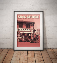 Load image into Gallery viewer, Vintage poster Singapore - Circular Road | Wall Art Decor | Travel Poster | Fine Art Print