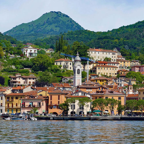 lake como where our silk scarves are made