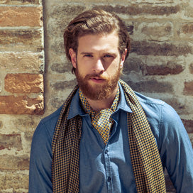 silk ascot ties day cravats made in Italy