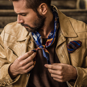 mens silk bandana neckerchiefs