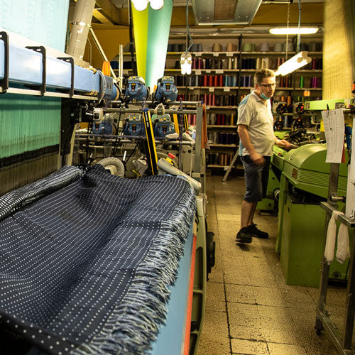 Handmade Italian silk grenadine ties how they are made