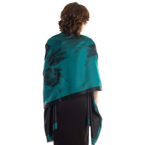 silk evening wrap