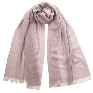 Heather Italian Cashmere Scarf Shawl - Made in Italy