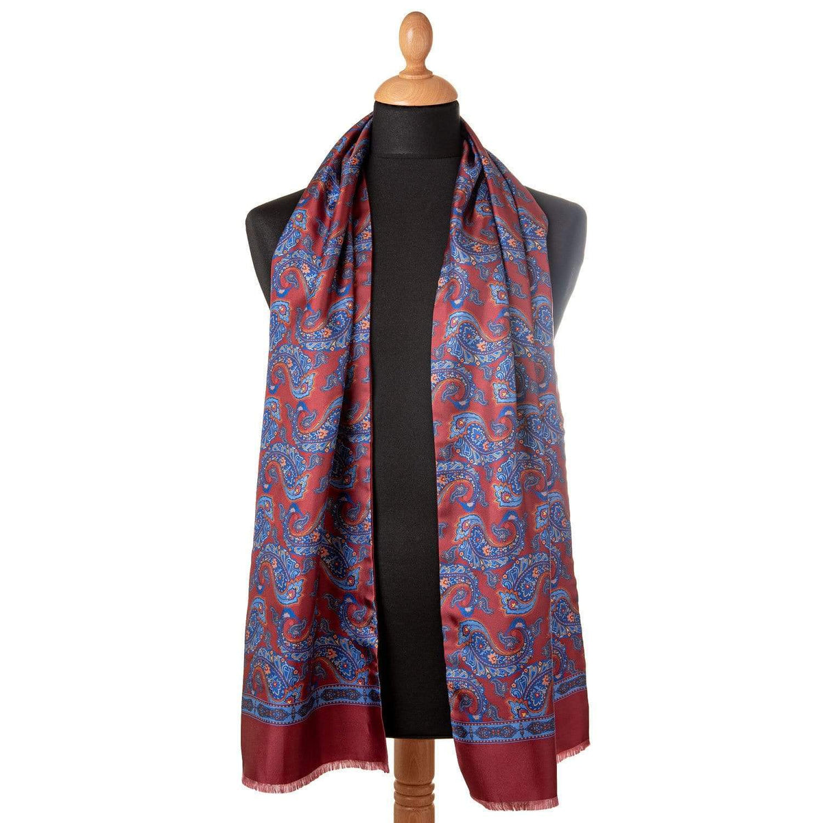 winter silk dress scarf