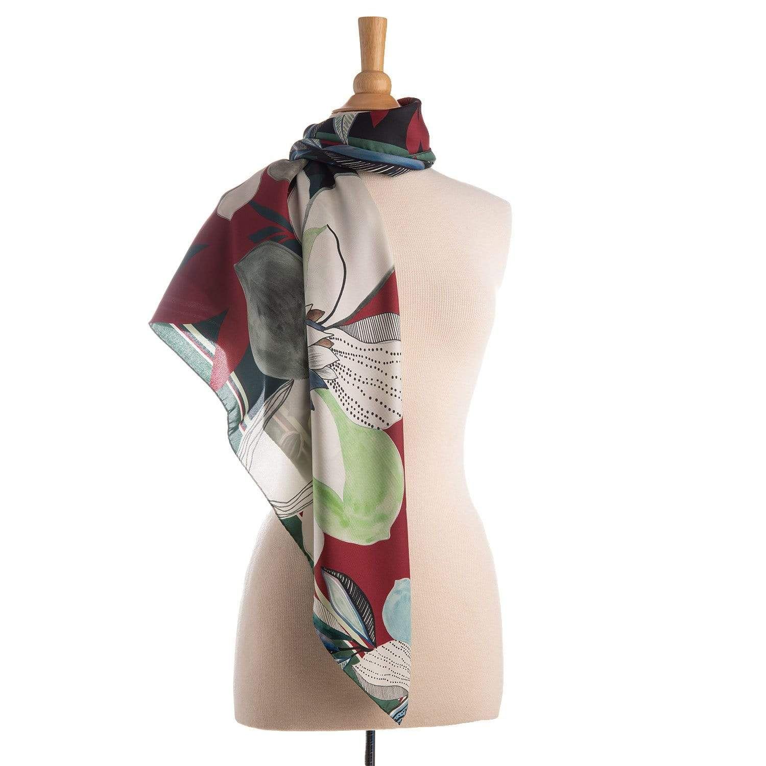 womens silk square scarf