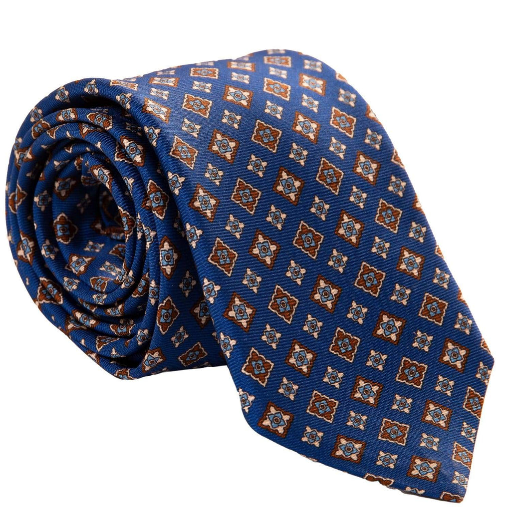 Lake Como silk tie for men